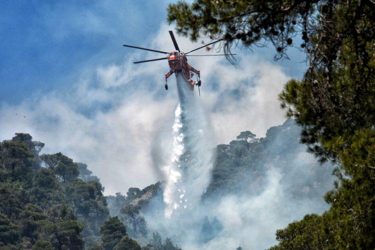 Grčka, požar, gašenje požara