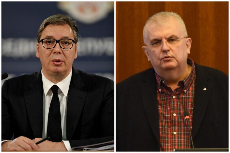 Aleksandar Vučić, Nenad Čanak