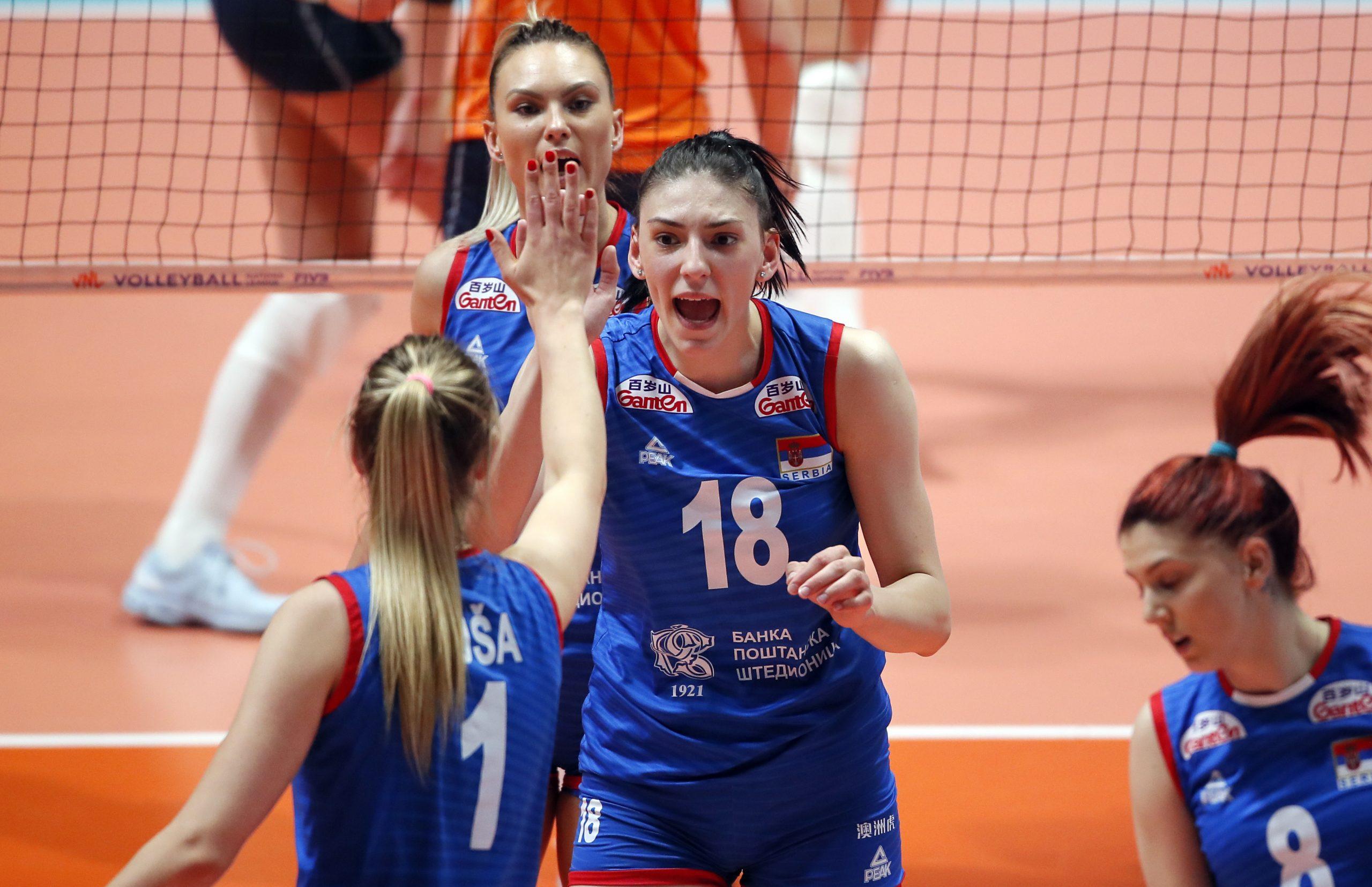 Tijana Bošković, Ženska odbojkaška reprezentacija Srbije