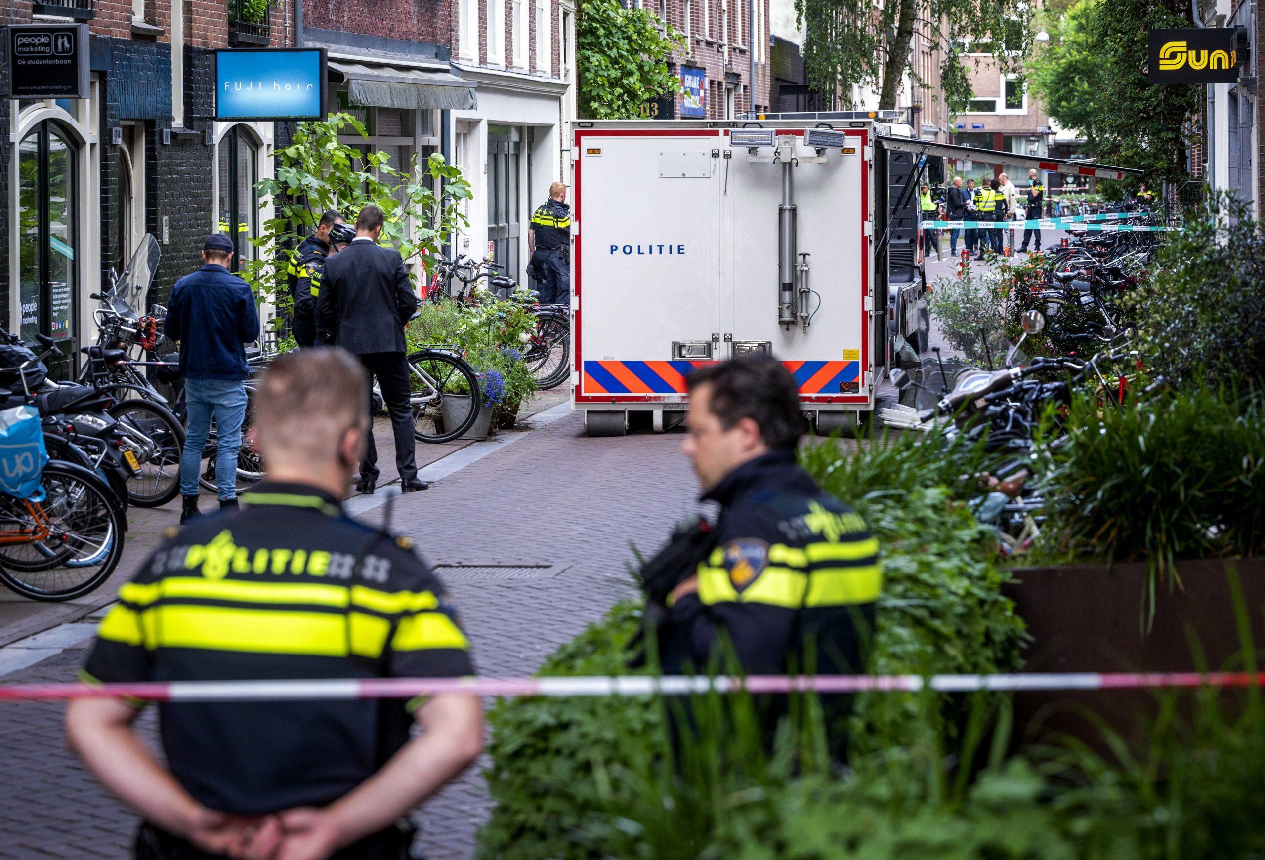 Amsterdam novinar pucnjava