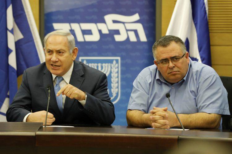 David Bitan Benjamin Netanjahu