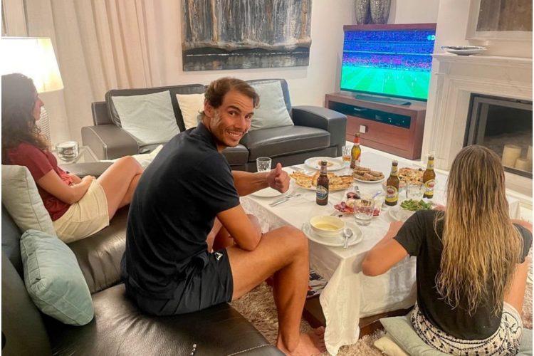 Rafael Nadal i supruga