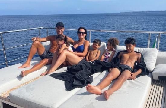 Kristijano Ronaldo, Georgina Rodrigez i deca
