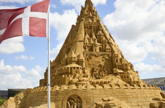 Danska dvorac od peska najveci na svetu