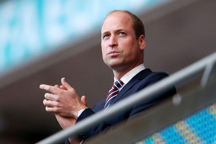 Princ Vilijam na utakmici Engleska Danska