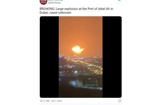 Dubai eksplozija