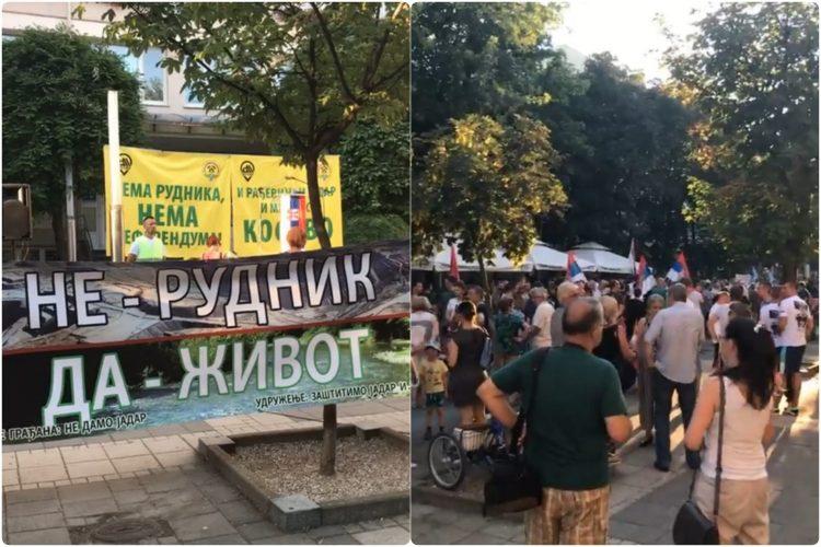 Protest u Sapcu protiv poslovanja kompanije Rio Tinto u Srbiji Sabacc