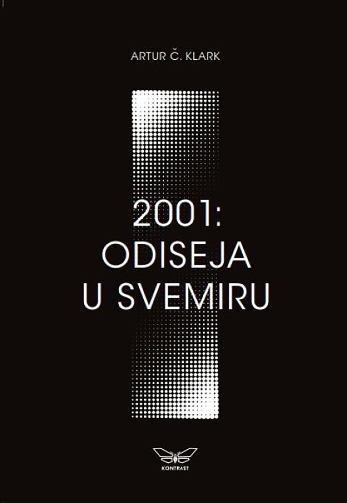 Artur Č. Klark, 2001. Odiseja u svemiru, knjiga, knjige