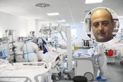 Kovid bolnica, Aleksandar Ivković