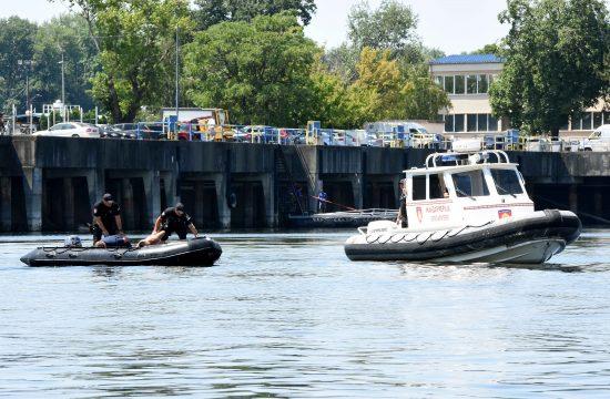 Ronilačka jedinica Žandarmerije, rečna policija, reka