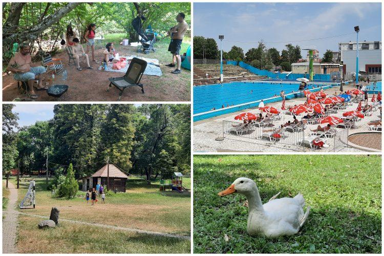 Kragujevac, leto, turizam, bazen, eko park, odmor