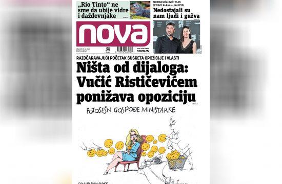 Nova broj 10, dnevni list Nova, dnevne novine Nova