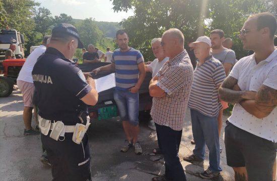 Protest mestana Gornje Gorevnice