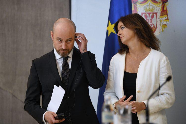 Medjustranacki dijalog opozicija vlast Vladimir Bilcik i Tanja Fajon