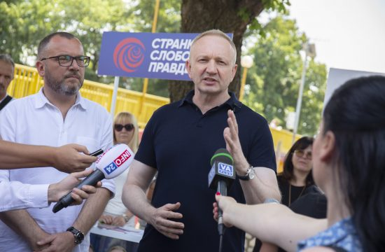Dragan Đilas, Dragan Djilas, Stranka slobode i pravde, SSP