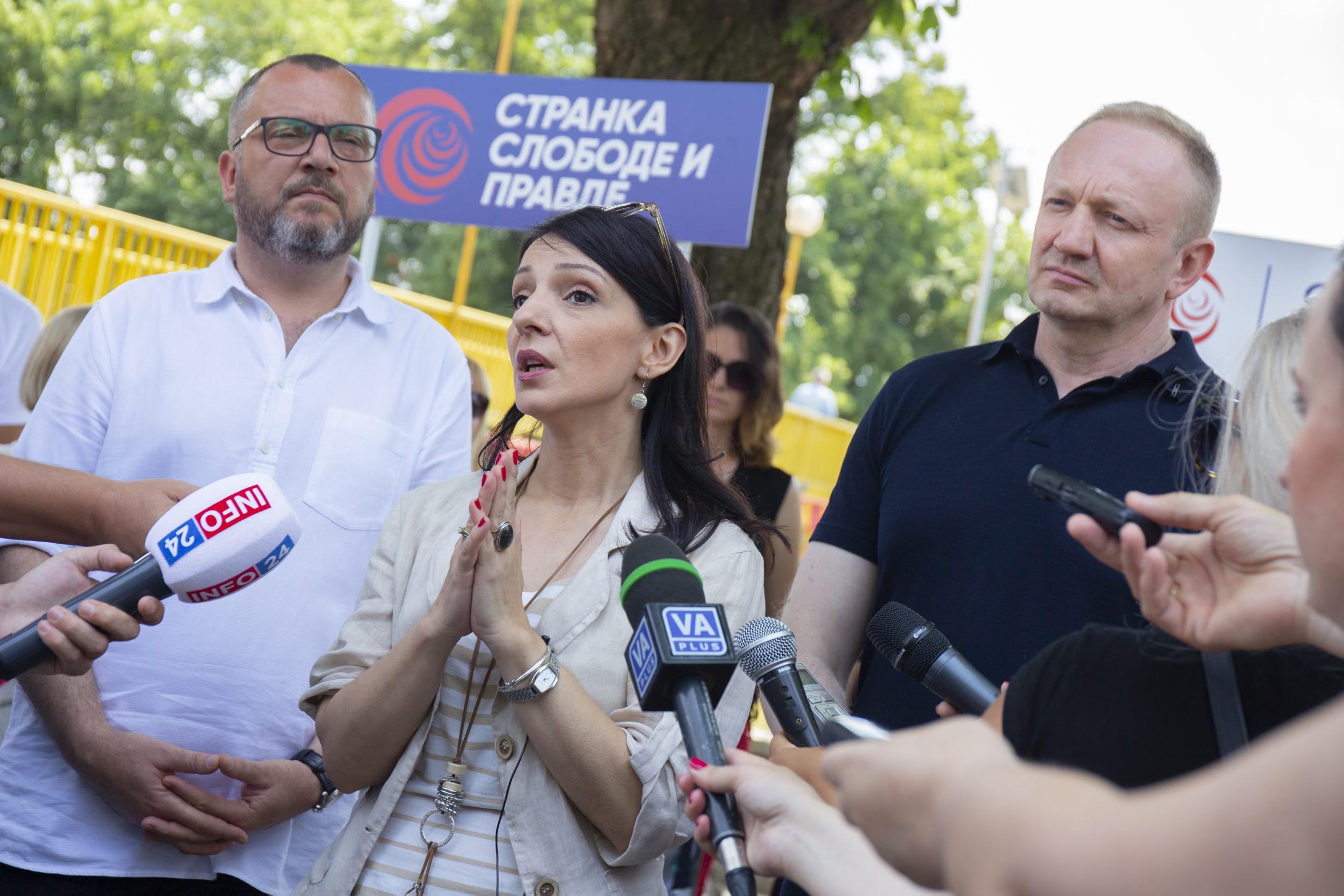 Marinika Tepić i Dragan Đilas, Dragan Djilas, Stranka slobode i pravde, SSP