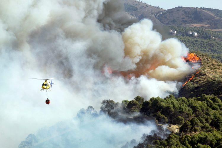 Kalifornija, požar