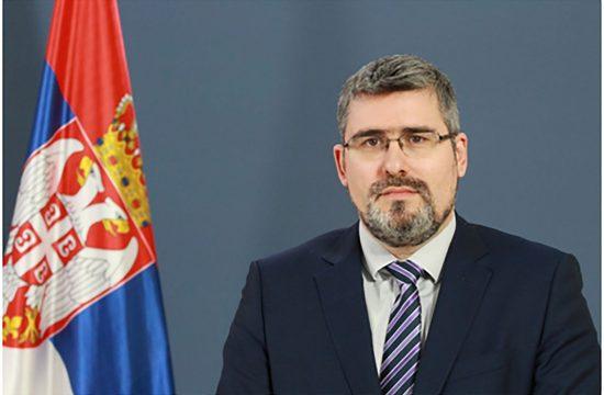 Nemanja Starović, državni sekretar
