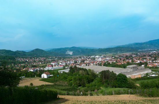 Bratunac, panorama