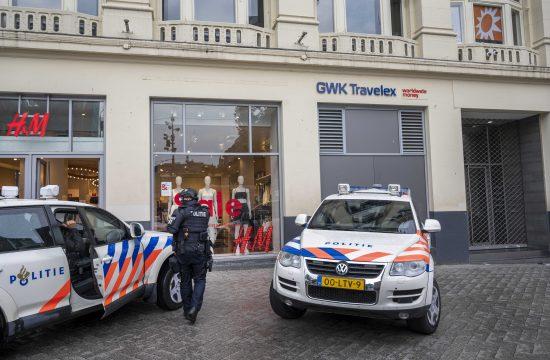 Amsterdam, policija, evakuacija, tv studio