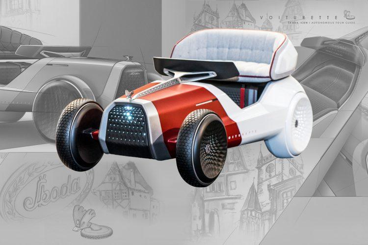 koncept, dizajn, auto, automobil, Škoda