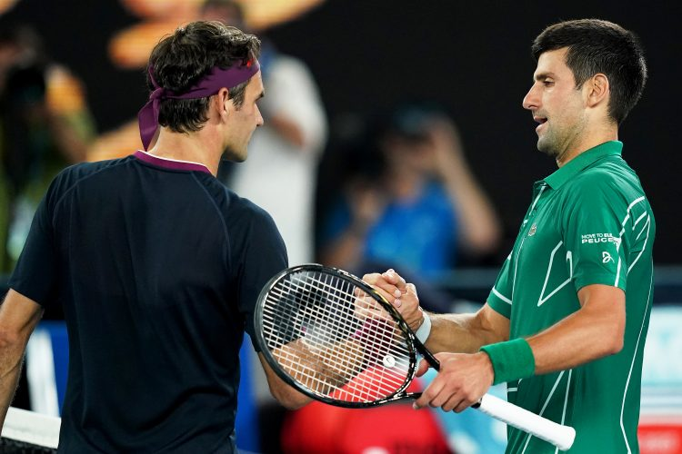 Rodžer Federer Novak Đoković