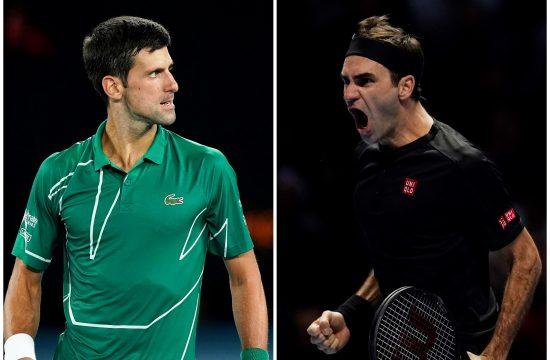 Novak Đoković Rodžer Federer
