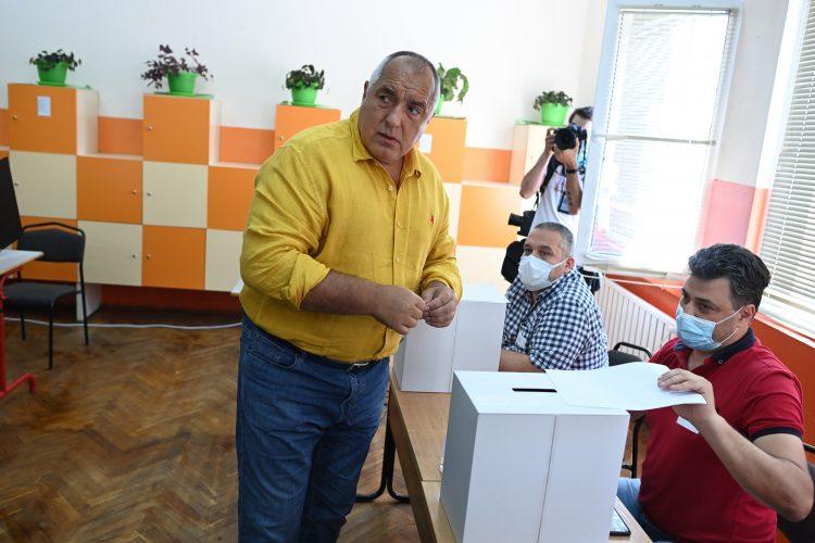 Bojko Borisov na glasanju