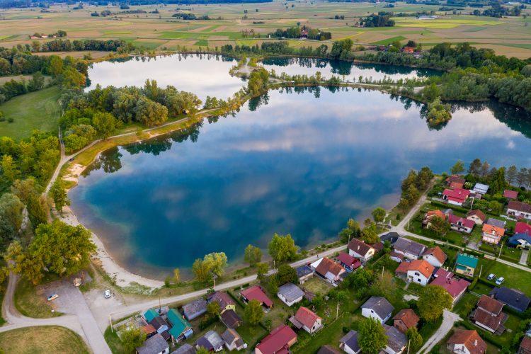 Jezero Čingi Lingi, kod Molva, Hrvatska