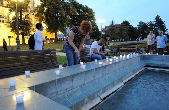 Paljenje sveća, Predsedništvo, Srebrenica