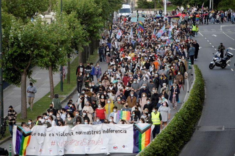 Španija, protest
