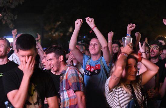 Gledanje utakmice, finala Euro 2020, fudbal, finale, Italija, Engleska, muzički festival Exit, Egzit