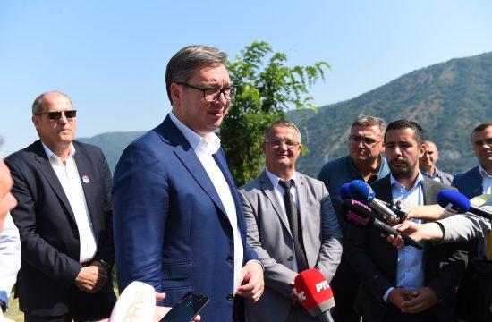 Aleksandar Vučić, Kladovo