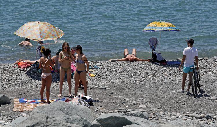 Soči; plaža