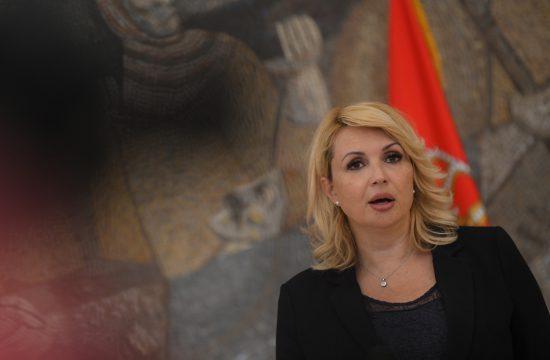 Darija Kisić Tepavčević, krizni štab, konferencija za novinare