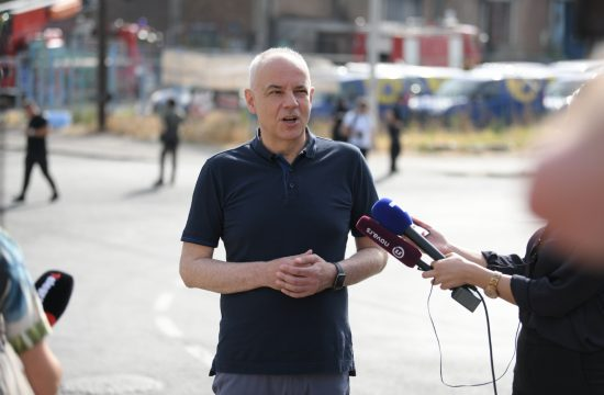 Zoran Radojičić, Luka Beograd, požar, magacin