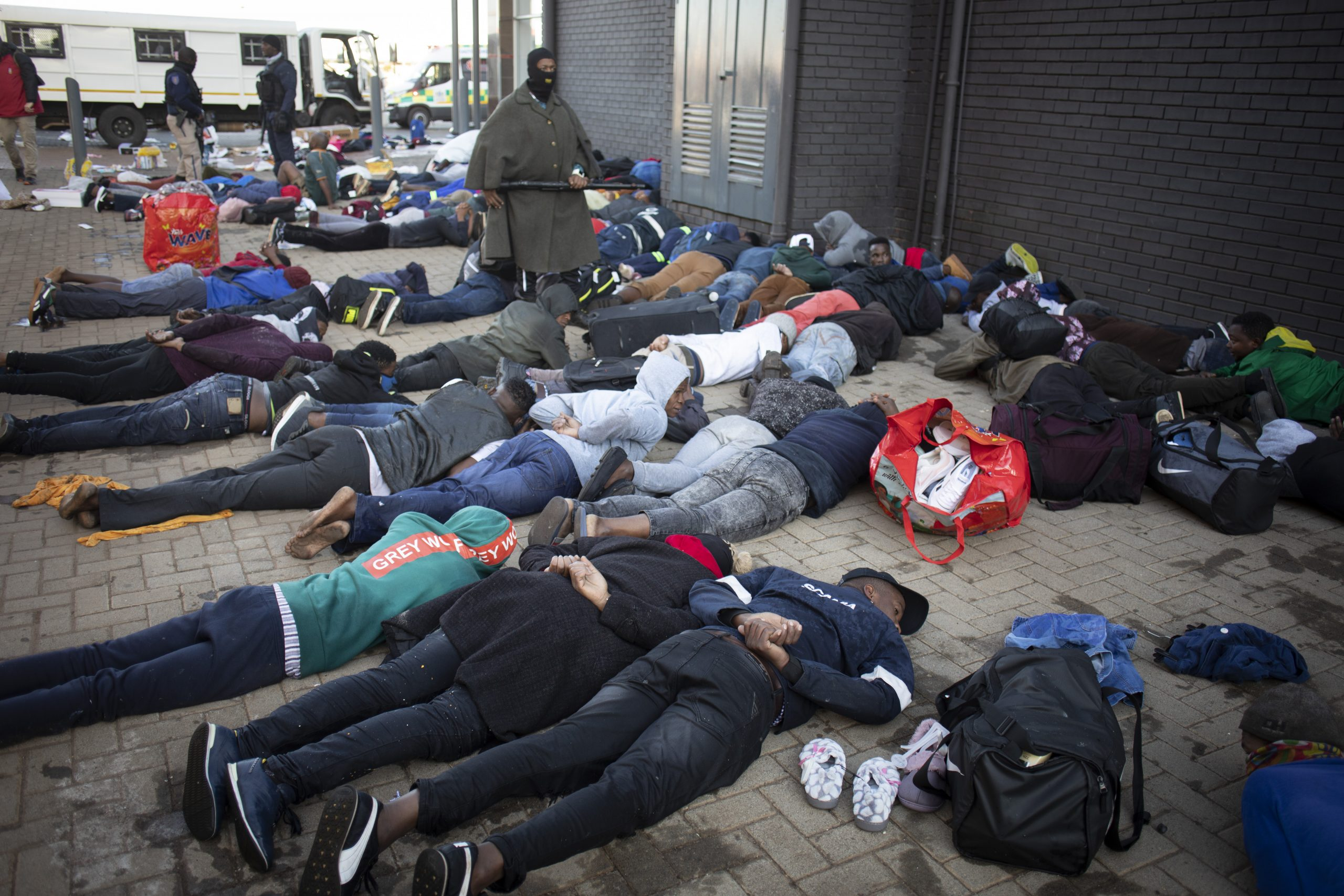 Južna Afrika, protest
