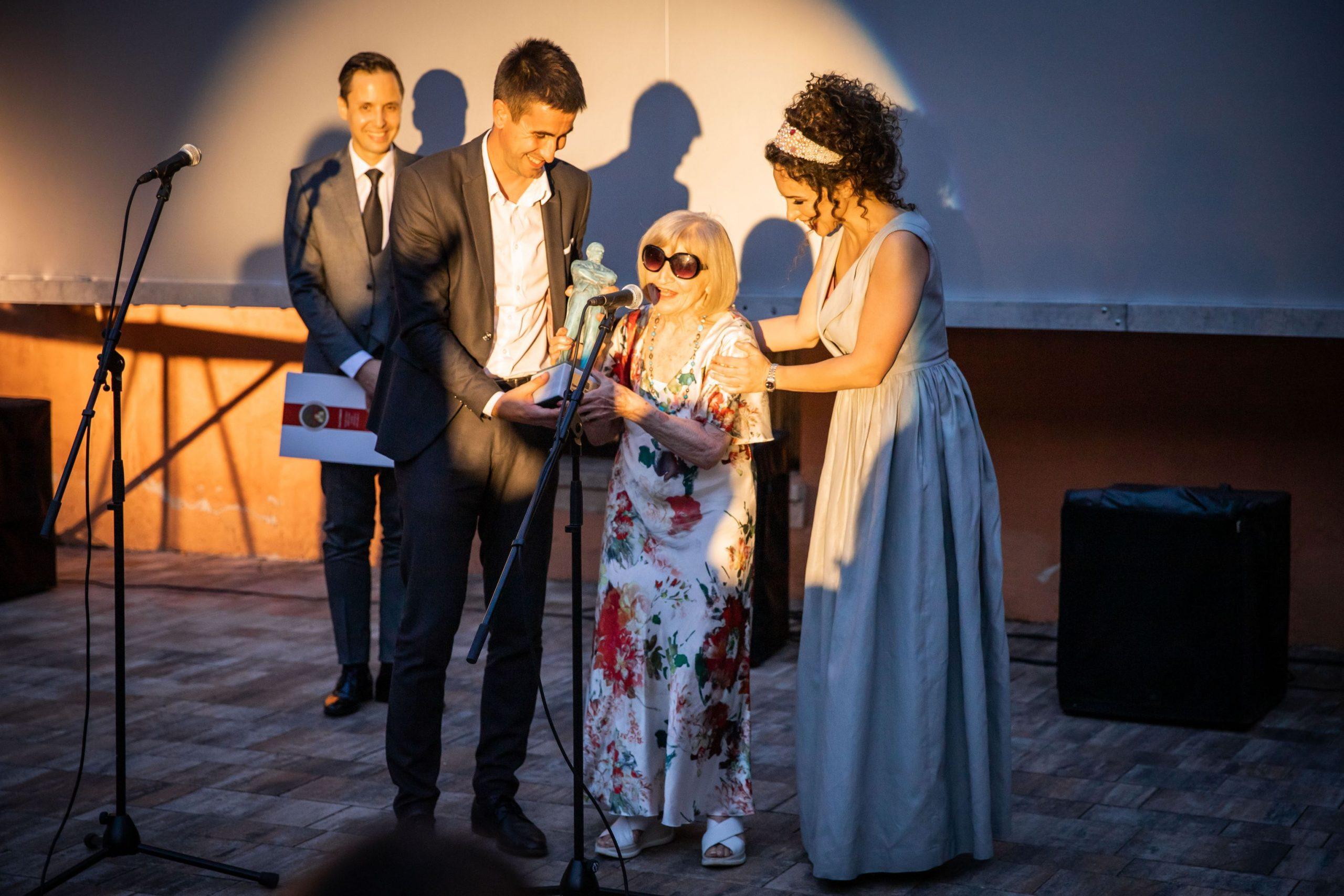 Mira Banjac, Sombor, Somborski filmski festival, svečano otvaranje, svečano otvoren Treći somborski filmski festival