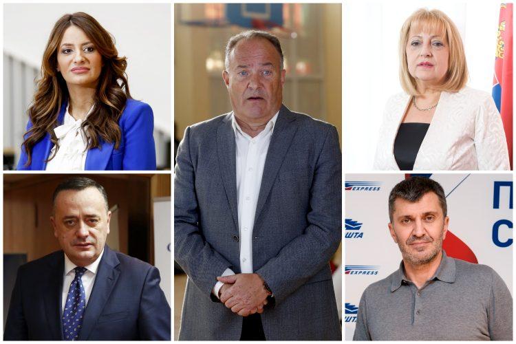 Nela Kuburović, Mladen Šarčević, Slavica Djukić Dejanović, Aleksandar Antić, Zoran Djordjević