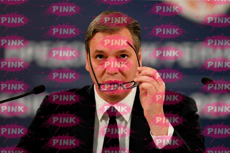 Aleksandar Vučić, Pink