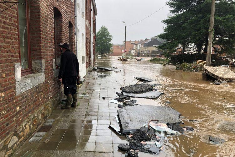 Belgija, poplava, poplave, nevreme