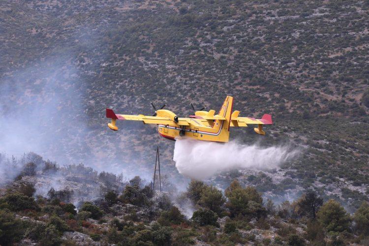 Hrvatska, Marina, Trogir, požar