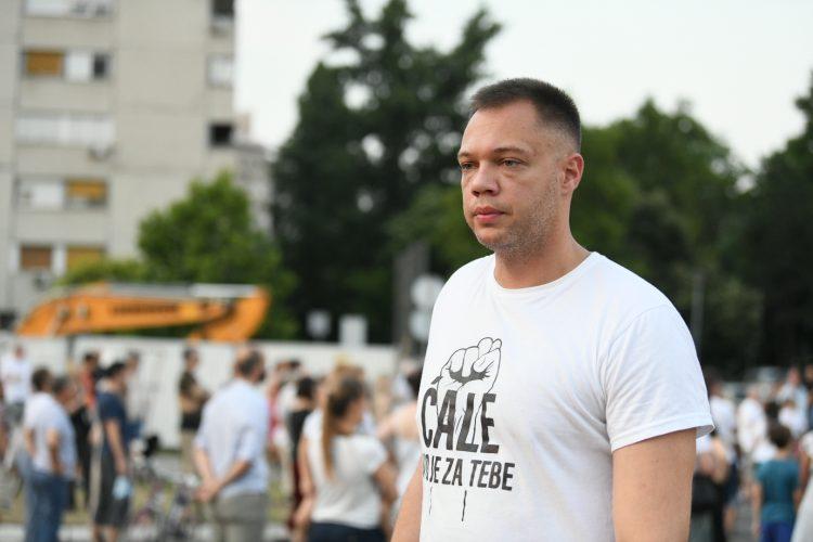 Petar Đurić, Ćale ovo je za tebe Beograd Protest stanara bloka 37. Blok 37, Novi Beograd