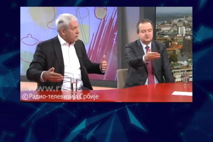 RTS i opozicija, Druga strana na RTS, Proboj javnog servisa ili kozmetika, prilog, emisija Među nama, Medju nama