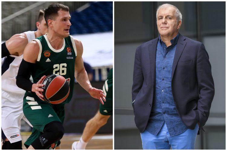 Nemanja Nedović i Željko Obradović