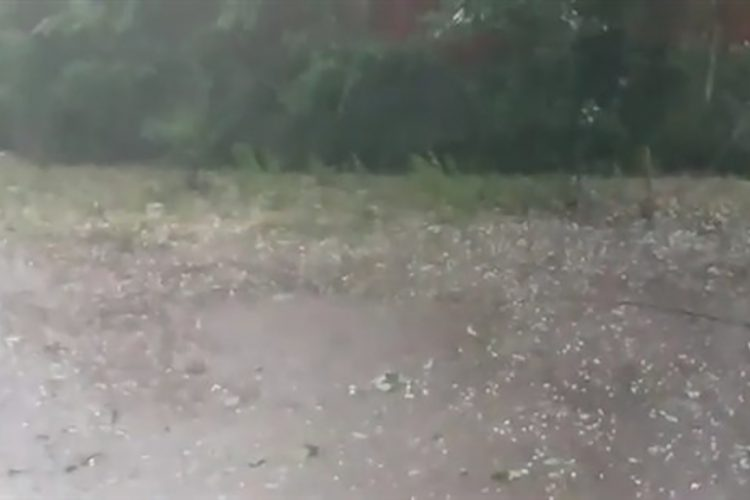 Ćuprija, grad, nevreme, kiša