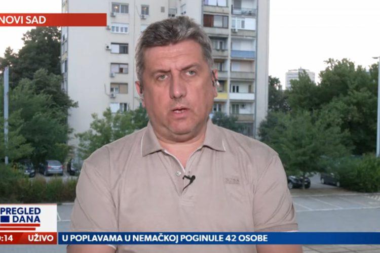 Branko Radun, gost, emisija Pregled dana