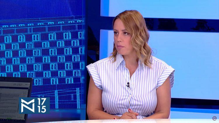Marija Gnjatović, emisija Među nama, Medju nama