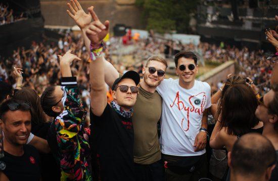 Miloš Biković, Aleksandar Radojičić i Viktor Savić Exit, Egzit, muzički festival