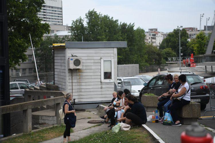 Zgrada Radio televizije Srbije RTS, evakuisana zgrada dojava o bombi